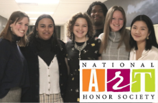 CHS National Art Honor Society Inducts Second Class