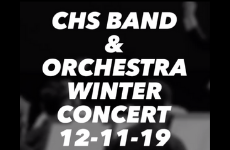 CHS Music and Performing Arts Hosts 2019 Winter Instrumental Concert