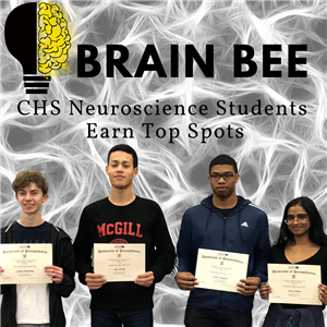 Brain Bee Students Earn Top Spots