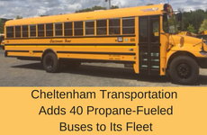 New Propane Bus Fleet
