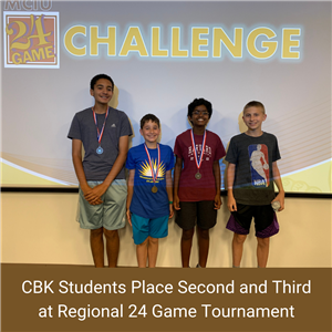 CBK Students During 24 Game Tournament