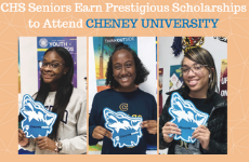 CHS Seniors Earn Prestigious Scholarships to Attend Cheyney University