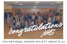 CHS National Honor Society Inducts 61