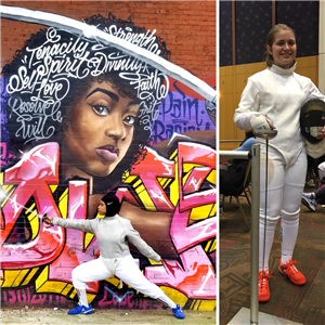 CHS fencers qualify for Junior Olympics Fencing Championship