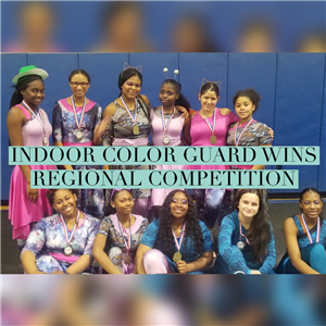 Indoor Colorguard