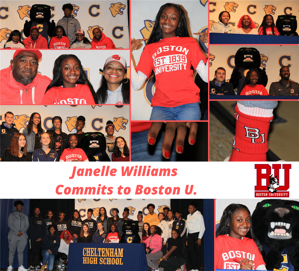 Janelle Williams Signs Letter of Intent to Run at Boston University