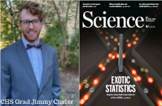 CHS Grad Jimmy Custer Heads Research Efforts on Technological Breakthrough, Serves as Lead Author