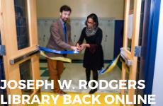 Joseph W. Rodgers Library at CHS Back Online as Student-Centered JWR Culture and Resource Center –