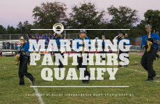Marching Panthers Qualify for Cavalcade of Bands Independence Open Championships