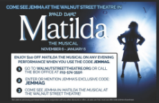 Matilda Musical Artwork