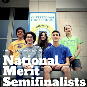 CHS National Merit Semifinalists