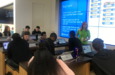 CHS students learn programming skills at Microsoft workshop