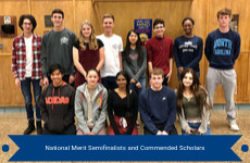National Merit Semifinalists and Commended Scholars