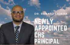 Dr. Renato Lajara Appointed Principal at Cheltenham High School