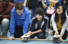 CBK students at solar car competition