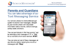 Cheltenham School District Rolls out Texting Service