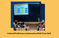 Student Government Hosts School Board for a Virtual Town Hall