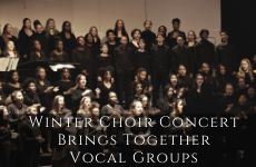 Winter Choir Concert Brings Together Vocal Groups