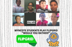 "Wyncote Students Play Flipgrid ""Would You Rather?"""