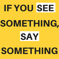 See Something Say Something Icon